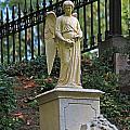 Mt Auburn Cemetery 3 by Michael Saunders