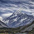Mt. Cook by Arnie Arnold