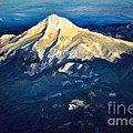 Mt. Hood From Above by Jon Burch Photography