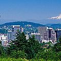 Mt Hood Portland Oregon Usa by Panoramic Images