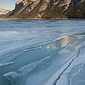 Mt. Inglismaldie And Ice Formations by John Shaw