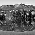 Mt Katahdin Black And White by Glenn Gordon