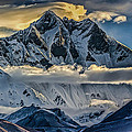 Mt Lhotse by David Danz