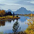 1m9208-mt. Moran And The Snake River, Wy by Ed  Cooper Photography
