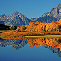 Mt. Moran Reflection by Ed  Riche