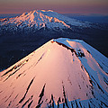 Mt Ngauruhoe And Mt Ruapehu by Rob Brown