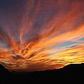 Mt Ord Sunset Arizona by Tom Janca