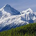 1m3627-mt. Outram And Mt. Forbes by Ed  Cooper Photography