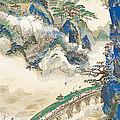 Mt Penglai Mountain Of Immortals by Tomita Keisen