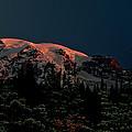Mt Rainier At Dawn by Albert Seger