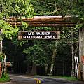 Mt Rainier Gateway by Steve Gadomski