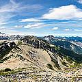 Mt Rainier National Park Panorama by Dan McManus