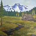 Mt Rainier Ranch by Duane West