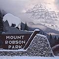 Mt Robson  by Glen Frear
