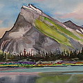 Mt. Rundle by Mohamed Hirji