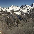 Mt Sefton Hooker Glacier And Mt Cook by Colin Monteath