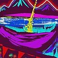 Mt. Shasta Moonlight by Nancy Good