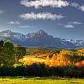 Mt Sneffels And The Dallas Divide by Ken Smith