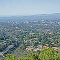 Mt. Soledad - View To The North by Susan McMenamin