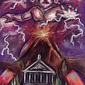Mt. Vesuvius - Jupiter's Fury by Samantha Geernaert