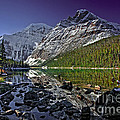 Mt.edith Cavell by Rick Mousseau