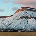 Mt.garfield Winter by Gary Emilio Cavalieri