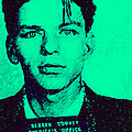 Mugshot Frank Sinatra V1m128 by Wingsdomain Art and Photography