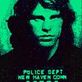 Mugshot Jim Morrison P128 by Wingsdomain Art and Photography
