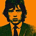 Mugshot Mick Jagger P0 by Wingsdomain Art and Photography
