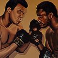 Muhammad Ali And Joe Frazier by Paul Meijering