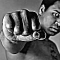 Muhammad Ali Fist by Florian Rodarte