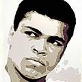 Muhammad Ali Poster Art by Florian Rodarte