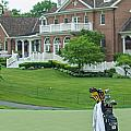 D12w-289 Golf Bag At Muirfield Village by Ohio Stock Photography