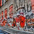 Mulberry Street Graffiti by Randy Aveille