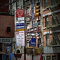 Mulberry Street New York City by Evie Carrier