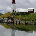 Mulholland Point Lighthouse - New Brunswick by Christiane Schulze Art And Photography