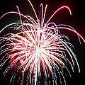 4th Of July Fireworks 8 by Howard Tenke