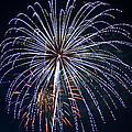 4th Of July Fireworks 12 by Howard Tenke