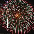 4th Of July Fireworks 16 by Howard Tenke