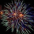 4th Of July Fireworks 22 by Howard Tenke