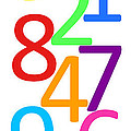 Multi-color Numbers by Jackie Farnsworth