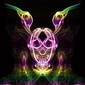 Multi Coloured Gremlin by Steve Purnell