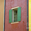 Multicolored Walls, France by John Shaw