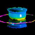 Multicoloured Bowl by Jaroslaw Blaminsky