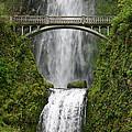 Multnomah Falls Bridge by Monica Veraguth