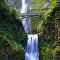 Multnomah Falls by Bryan Rasmussen