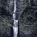 Multnomah Falls - Columbia Gorge - Oregon State by Daniel Hagerman