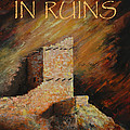 Mummy Cave Ruins II Greeting Card by Jerry McElroy