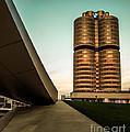 munich - BMW office - vintage by Hannes Cmarits