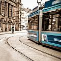 Munich City Traffic by Hannes Cmarits